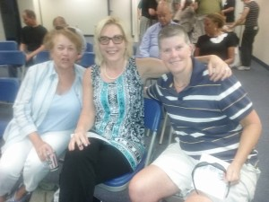 Judy, Claire, and Mikki at PDD Budget Forum